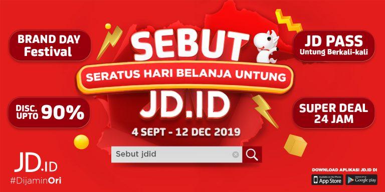 JD.ID Merilis Rangkaian Kampanye Unik 'Seratus Hari Belanja Untung'