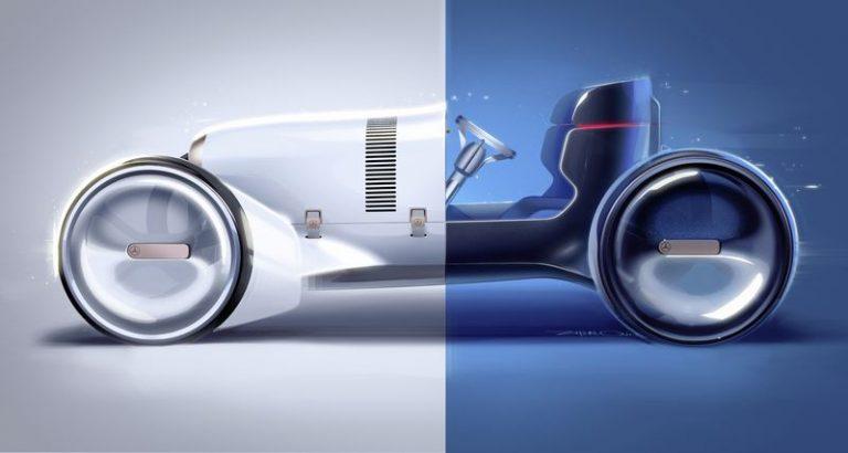 Inikah 'Reinkarnasi' Mercedes-Simplex Tahun 1901 Setelah Menjadi Mobil Listrik Konsep?