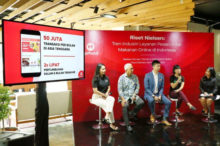 Lembaga Survei Nielsen: GoFood Pemimpin untuk Layanan Pesan-Antar Makanan di Indonesia