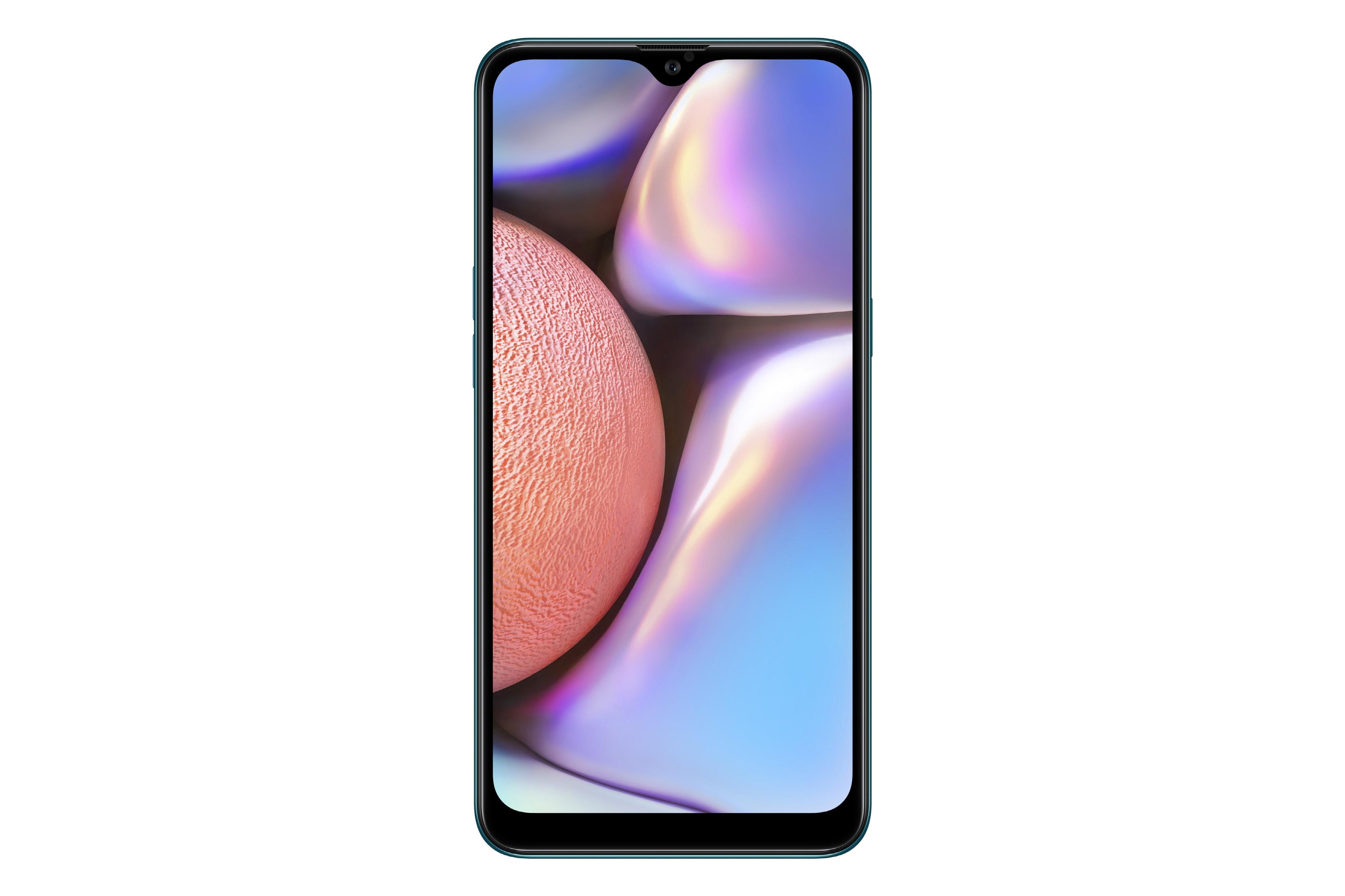 Samsung Galaxy A10s_Tampak Depan_Hijau