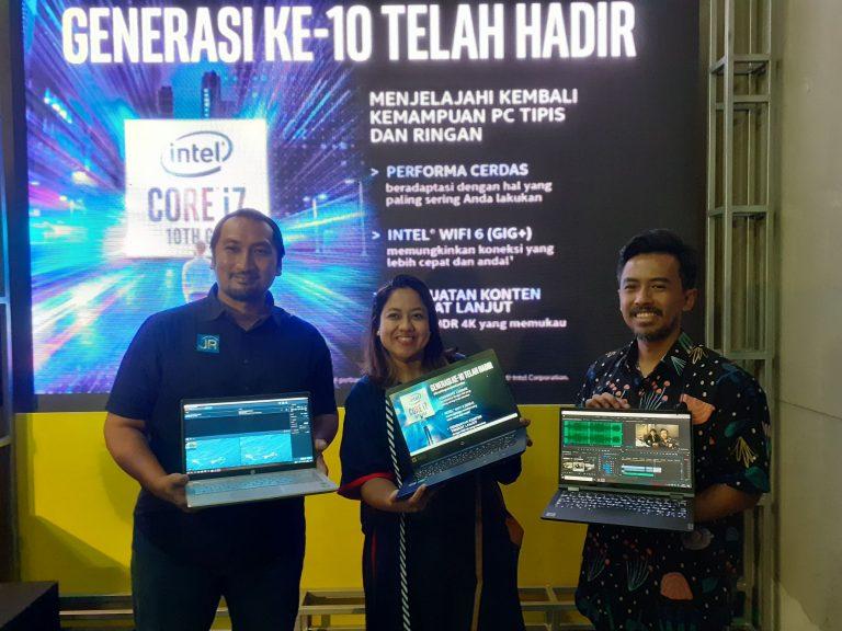Intel Core Generasi ke-10 Unjuk Kebolehan di Ajang Brightspot