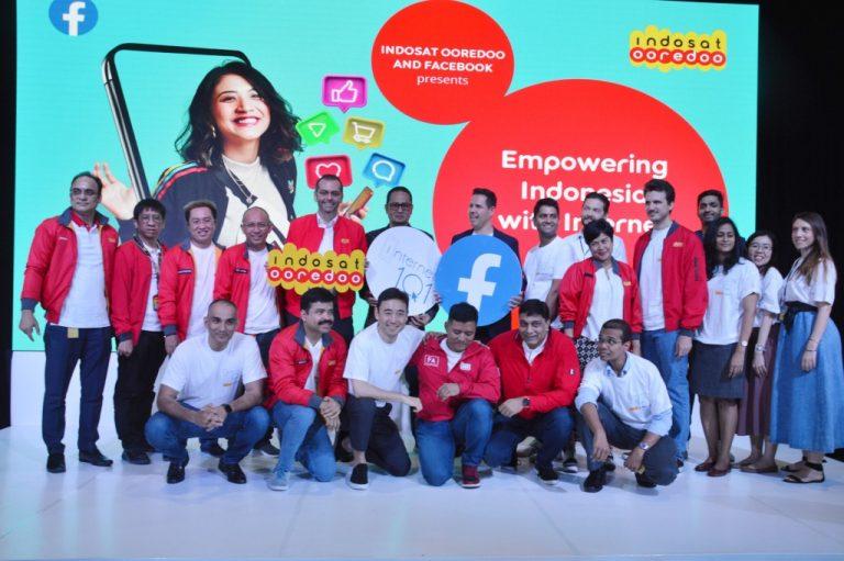 Gandeng Facebook, Indosat Ooredoo Luncurkan Program Internet 1O1