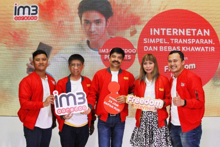 Penuhi Kebutuhan Internet Tanpa Khawatir, IM3 Ooredoo Hadirkan Paket Freedom Internet Terbaru