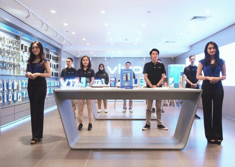 Gandeng Telesindo, Vivo Buka Official Store Terbaru di Citraland