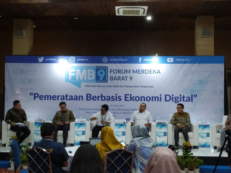 Sudah Ada Palapa Ring, Pemerintah Ungkap 'Resep' Genjot Pemerataan Ekonomi Digital
