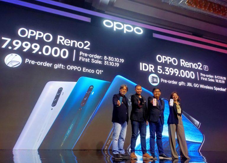 Sarat Peningkatan Kamera dan Video, Oppo Reno 2 Semakin Lengkapi Lini Produk Reno di Tanah Air