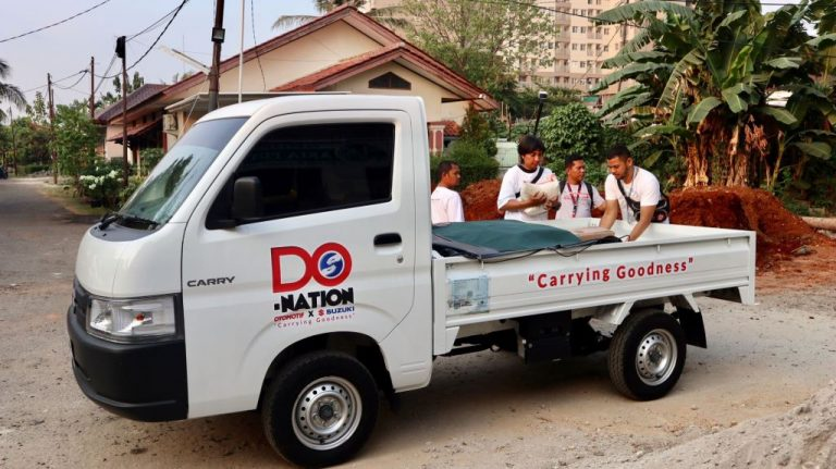 Suzuki New Carry Pick Up Jadi Andalan di Program Carrying Goodness