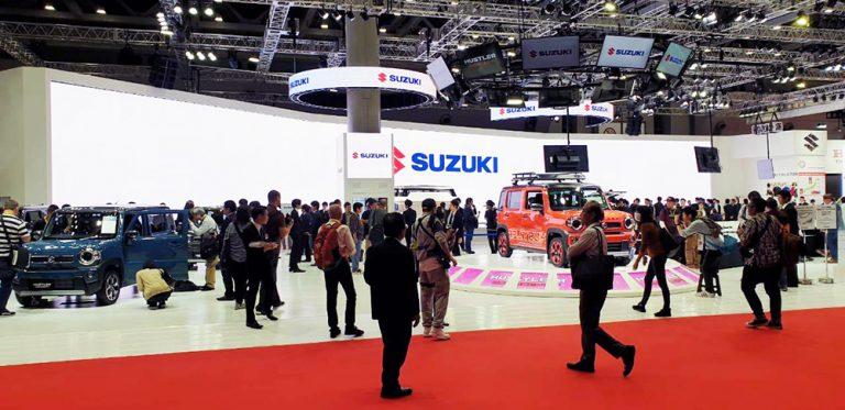 Sambut Hari Jadi ke-100, Suzuki Pamerkan Teknologi dan Produk Unggulannya di Tokyo Motor Show 2019