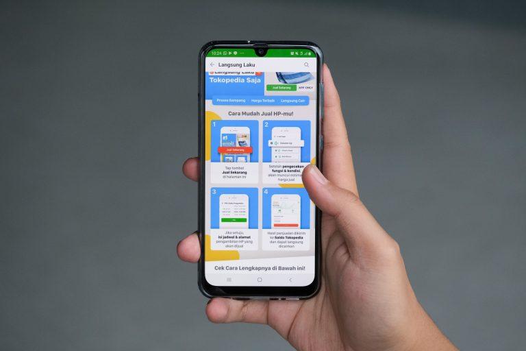 Jual Smartphone Enggak Pakai Lama, Tokopedia Hadirkan Fitur 'Langsung Laku'