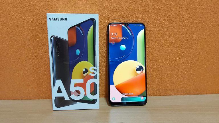 Review Samsung Galaxy A50s, Akhirnya Ada NFC-nya