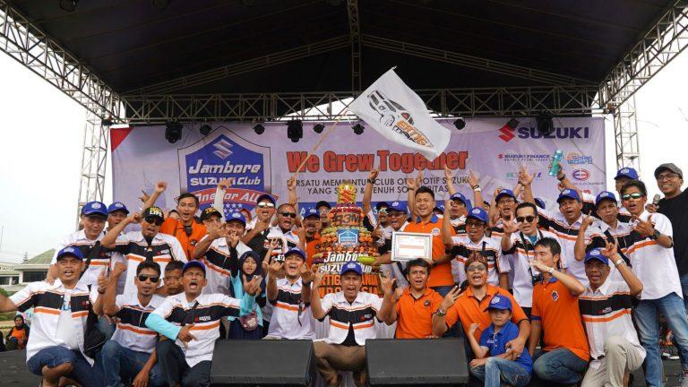 Jambore Suzuki Club 2019 Diramaikan Beragam Kegiatan Atraktif