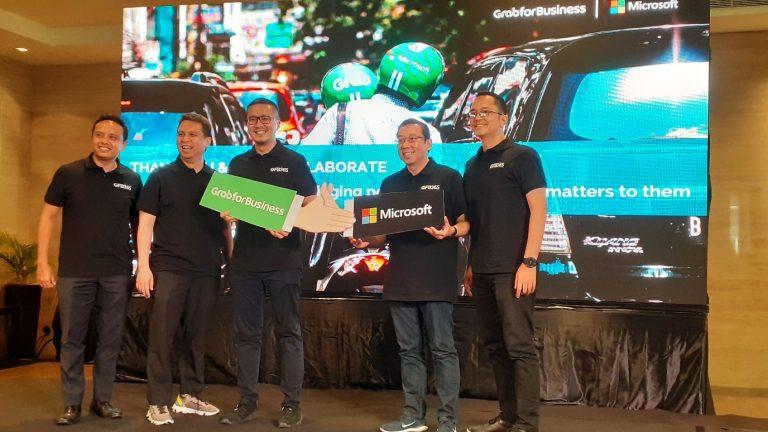 Sasar Sektor UMKM Indonesia, Grab bersama Microsoft Lahirkan Grab for Business 365