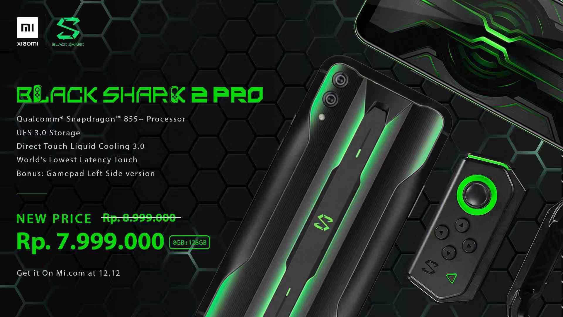 Ini Harga Black Shark 2 dan Black Shark 2 Pro yang Akan ...