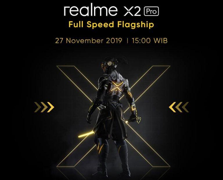 Catat Tanggalnya, 'Flagship Killer' Realme X2 Pro Rilis di Tanah Air 27 November 2019