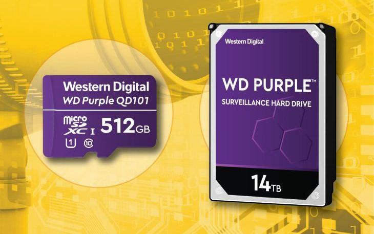 Western Digital Perkenalkan WD Purple 14TB HDD dan MicroSD WD Purple SC QD101 Ultra Endurance
