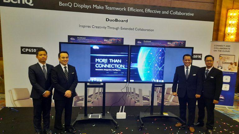 BenQ Luncurkan DuoBoard Interactive Flat Panel dan Proyektor Pintar