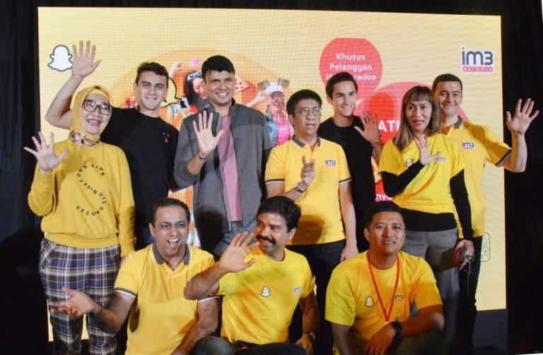 Jalin Kerja Sama dengan Snap Inc., IM3 Ooredoo Berikan Bonus 5GB Kuota Internet untuk Akses Snapchat