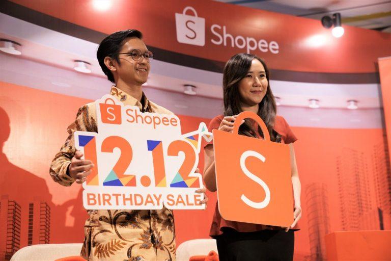 Shopee Tebar 12 Promo Spesial di Perayaan Puncak Shopee 12.12 Birthday Sale