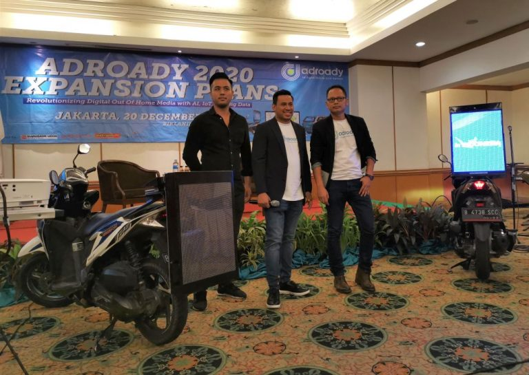 Punya Keunggulan Tersendiri, Adroady Rambah Platform Iklan Berjalan dengan Sepeda Motor