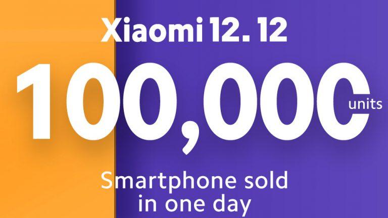 Di Festival Belanja Online 12.12, Dalam Sehari Xiaomi Berhasil Jual 100 Ribu Smartphone