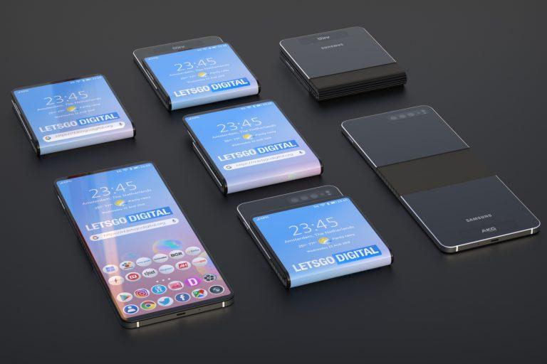 Ditantang Moto RAZR 2019, Samsung akan Meluncurkan Ponsel Lipat Tipe 'Kerang' Februari 2020