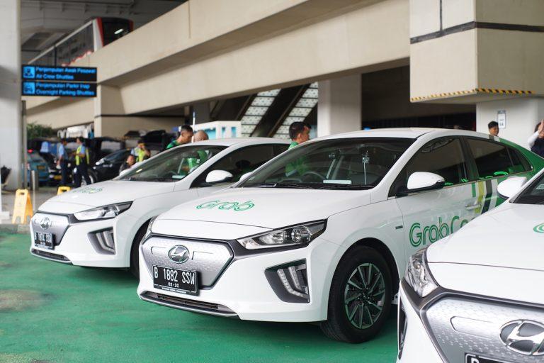 Akhirnya, GrabCar Elektrik Resmi Melantai Lewat Armada Hyundai IONIQ EV