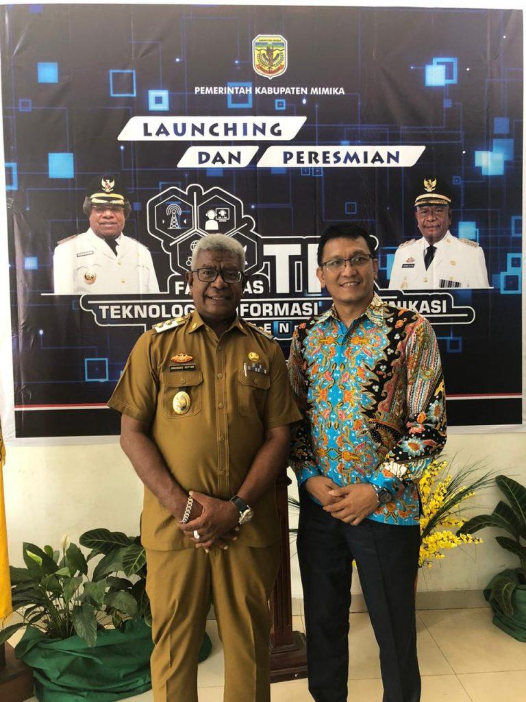 Lintasarta Dukung Pemkab Mimika Dirikan Mimika Command Center Pertama di Papua