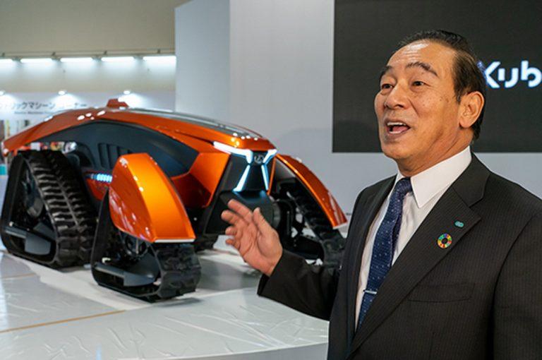 Otonom Sepenuhnya, Traktor Kubota X Mewakili Masa Depan Industri Pertanian
