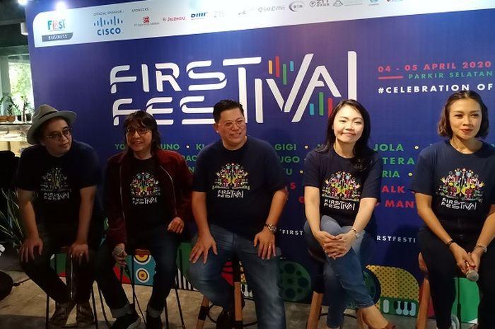 Mulai dari Musik Hingga Kompetisi eSports, First Festival 2020 Sarat Kegiatan