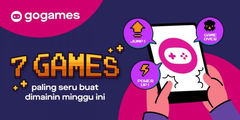 Bikin Betah, Gojek Sisipkan 7 Permainan Seru di Fitur Layanan GoGames