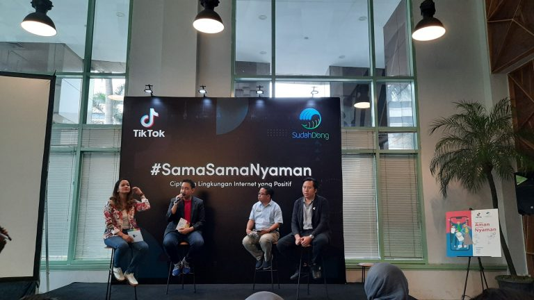 Luncurkan Kampanye #SamaSamaNyaman, TikTok Ingin Perangi Cyber Bullying