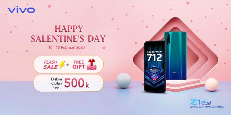 """Sambut Hari Kasih Sayang, Vivo Persiapkan Gelaran """"Happy Salentine's Day"""" di Mitra e-Commerce"""