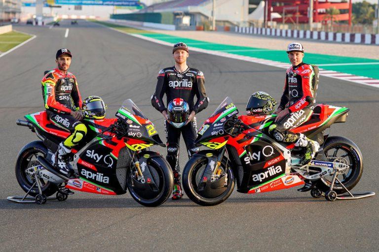Aprilia Racing Team Gresini Luncurkan Aprilia RS-GP 2020 di Qatar