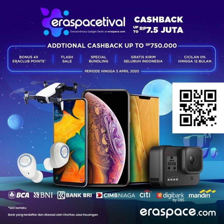 Banjir Potongan Harga, Festival Gawai 'Eraspacetival' akan Berakhir 3 April 2020