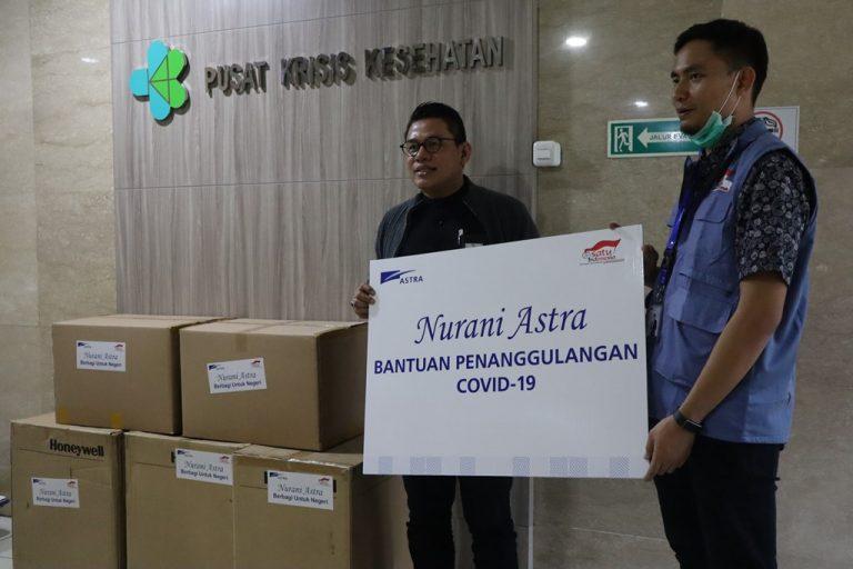Darurat Corona, Astra Serahkan Bantuan Tahap Awal Rp63 Miliar