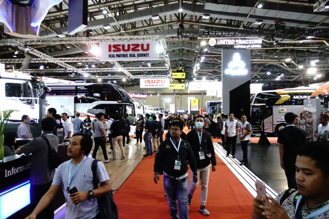 Resmi Dibuka, GIICOMVEC 2020 Jadi Panggung Peluncuran dan Perkenalan Kendaraan Komersial Baru