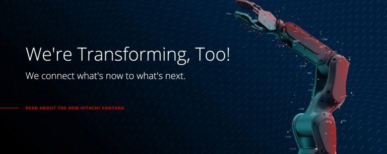 Gabung ke Hitachi Consulting, Hitachi Vantara Gabungkan Infrastruktur IT Terbaiknya