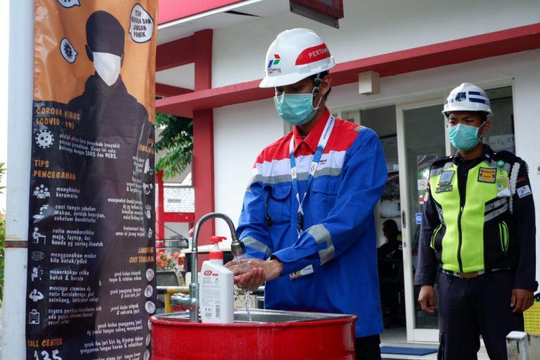 Halau Penyebaran Covid-19, Pertamina Lubricants Sterilisasi Fasilitas Kantor