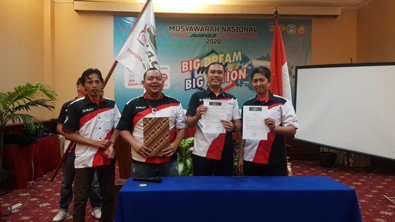 Toyota Avanza Club Indonesia Sukses Gelar Munas di Banten