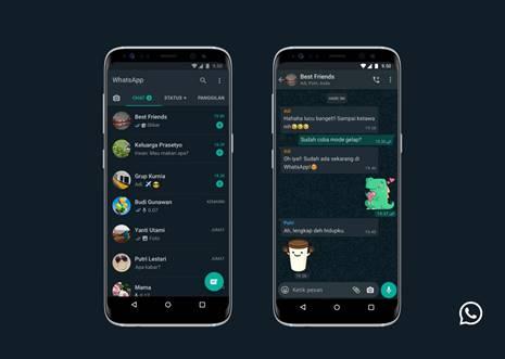 Wahai Pengguna WhatsApp! Begini Cara Mengaktifkan Dark Mode