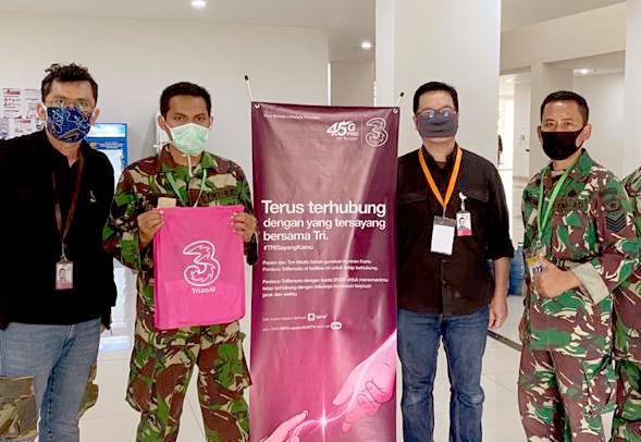 Khusus Pasien dan Relawan, 3 Indonesia Bagi-bagi 5.000 Kartu Perdana dengan Kuota 25GB
