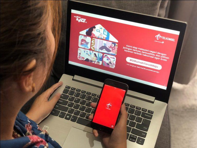 Gotong Royong Melintasi Masa Sulit, Telkomsel Dorong Gerakan #DiRumahTerusMaju
