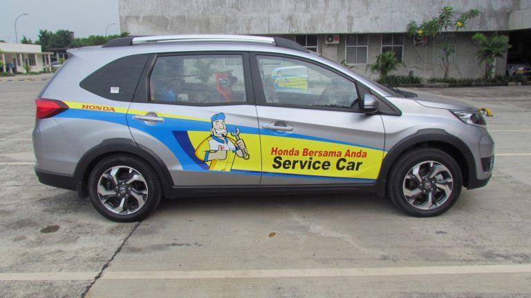 Ditunjang 118 Dealer, Honda Layani Perawatan Mobil di Rumah