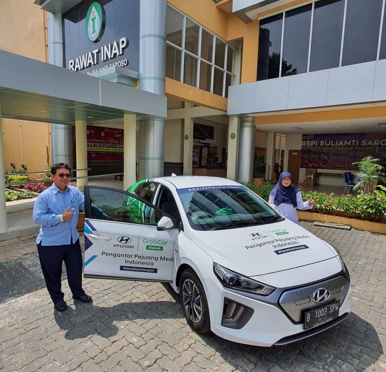 Tingkatkan Mobilitas Nakes, Tiga RS Rujukan Disediakan IONIQ Electric