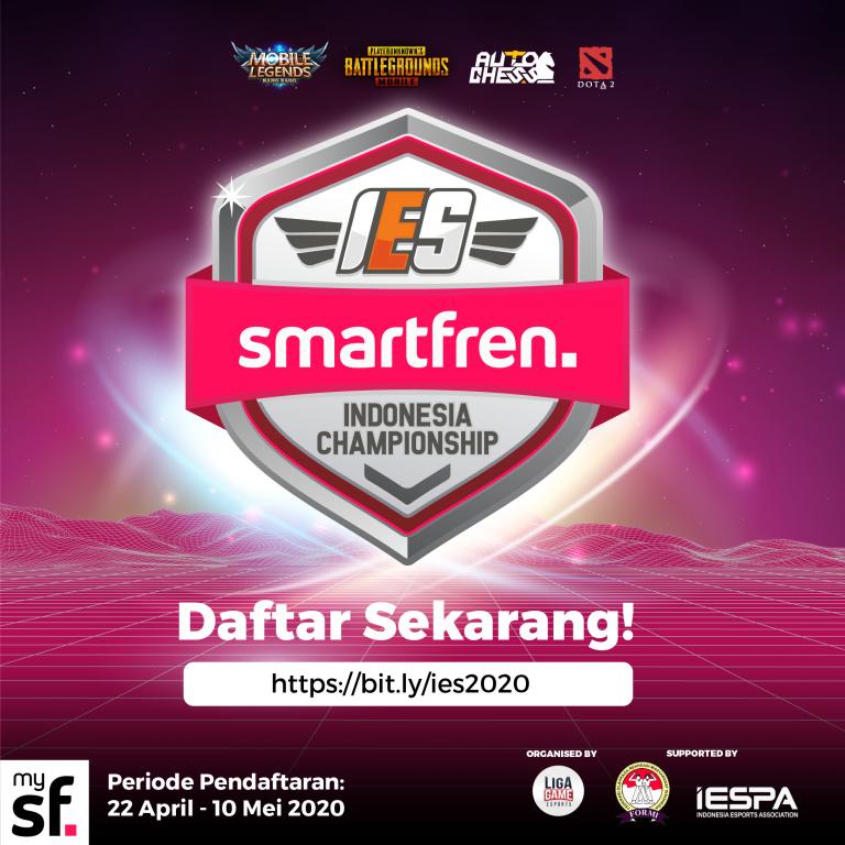 "Smartfren Gelar Kejuaraan E-Sports Nasional Terbesar ""IES Smartfren Indonesia Championship"""