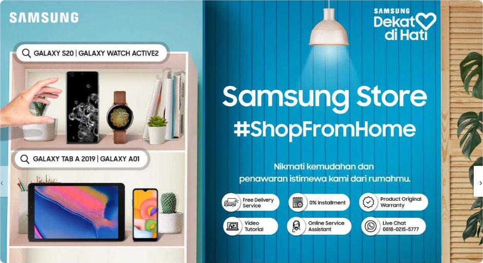 Samsung Shopfromhome
