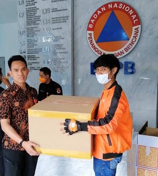Lewat BNPB, Shopee Donasikan 1 Juta Masker
