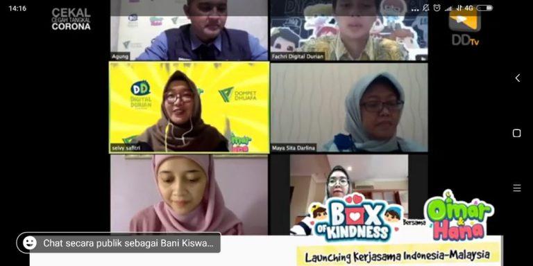 "Gandeng Dompet Dhuafa, 'Omar & Hana' Rilis ""Box of Kindness"" di Indonesia"