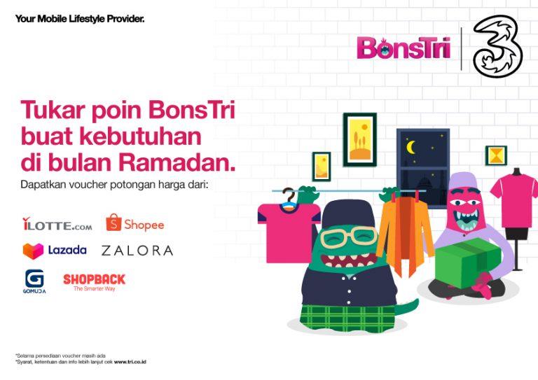 Demi Pelanggan Tetap Hemat, 3 Indonesia Banjiri Promo dan Manfaat Layanan