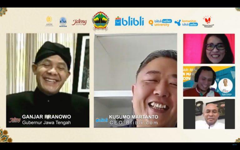 Dorong UMKM Manfaatkan e-Commerce, Pemprov Jateng Bersama Blibli Hadirkan Beragam Inisiatif